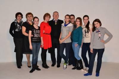 Театр моды на Национальном конкурсе Вячеслава Зайцева